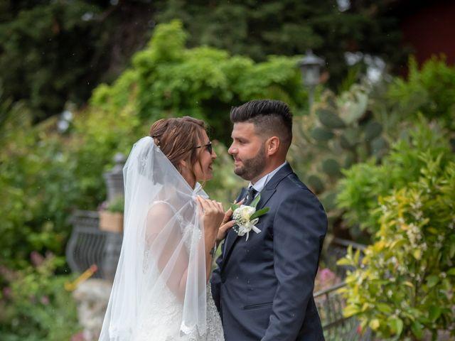 Il matrimonio di Andrea e Simona a San Giuliano Terme, Pisa 43