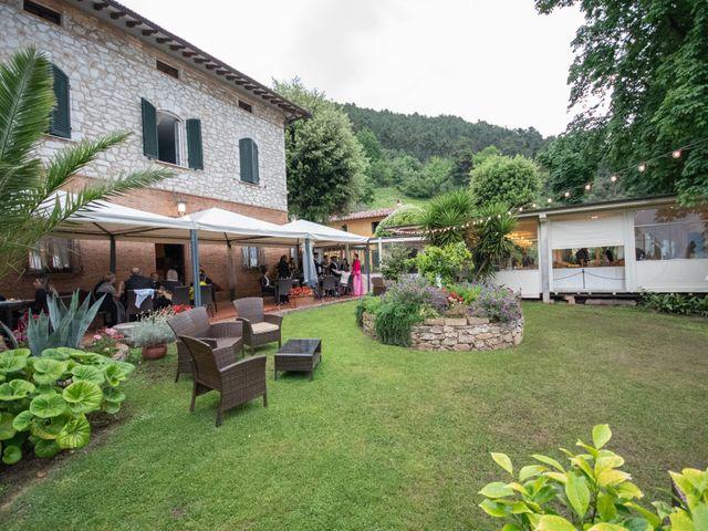 Il matrimonio di Andrea e Simona a San Giuliano Terme, Pisa 56