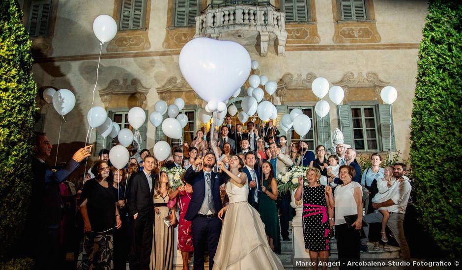 Il matrimonio di Tommaso e Chiara a Brignano Gera d'Adda, Bergamo
