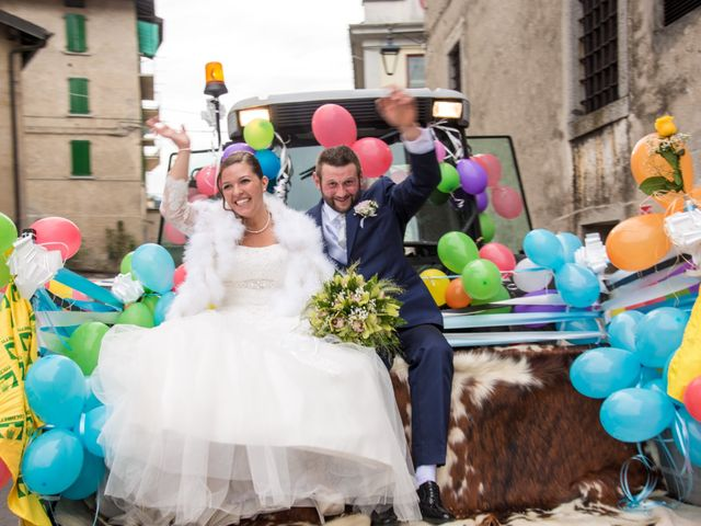 le nozze di Erika e Oscar