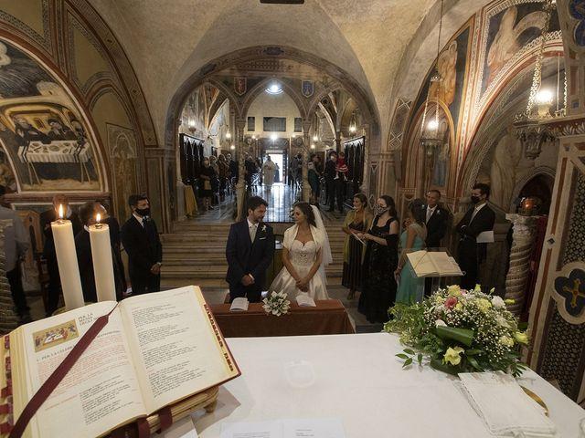 Il matrimonio di Paolo e Serena a Subiaco, Roma 17