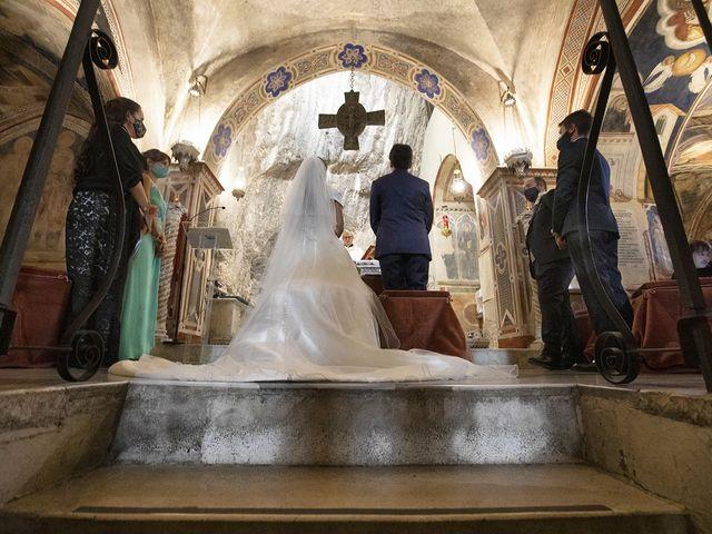 Il matrimonio di Paolo e Serena a Subiaco, Roma 18
