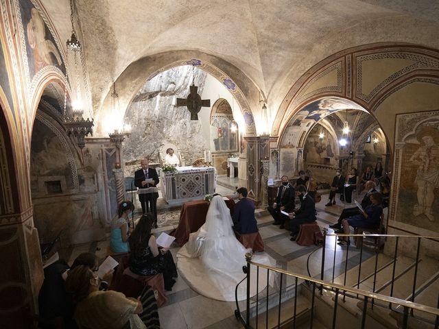 Il matrimonio di Paolo e Serena a Subiaco, Roma 19