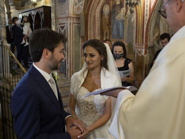 Il matrimonio di Paolo e Serena a Subiaco, Roma 21