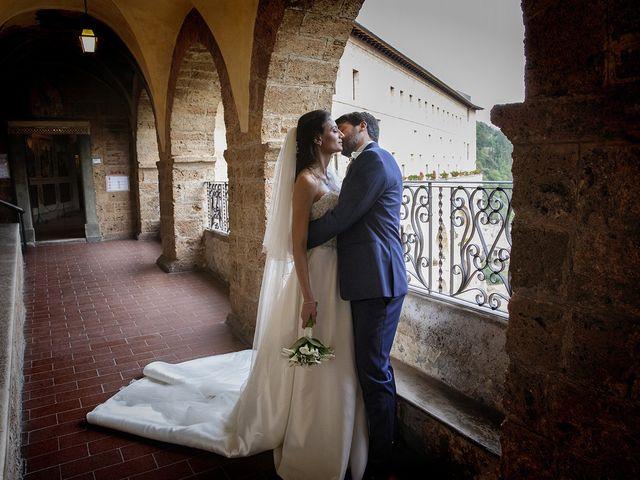 Il matrimonio di Paolo e Serena a Subiaco, Roma 34