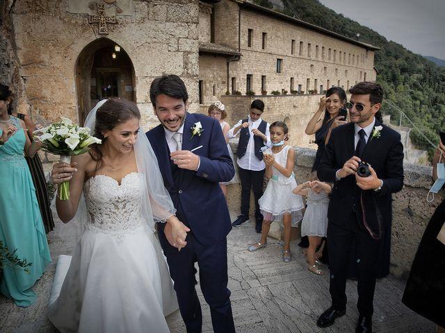 Il matrimonio di Paolo e Serena a Subiaco, Roma 40