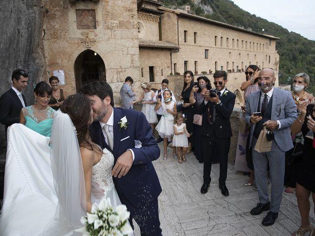 Il matrimonio di Paolo e Serena a Subiaco, Roma 41
