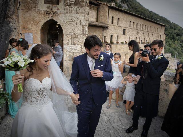 Il matrimonio di Paolo e Serena a Subiaco, Roma 42