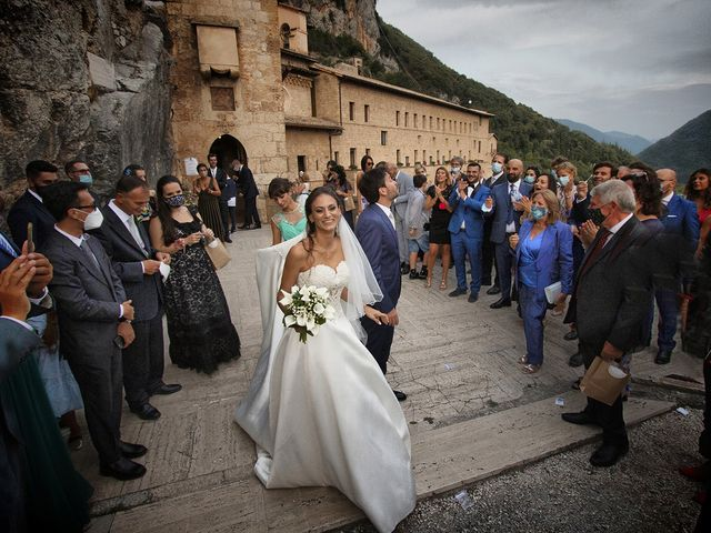 Il matrimonio di Paolo e Serena a Subiaco, Roma 43
