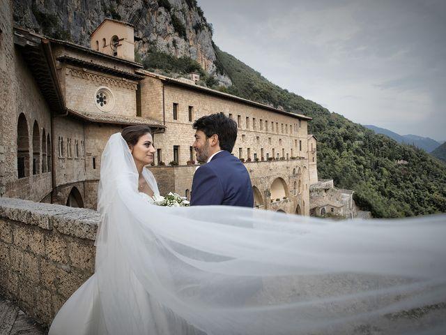 Il matrimonio di Paolo e Serena a Subiaco, Roma 45