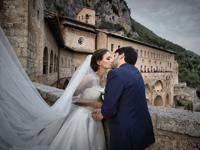 Il matrimonio di Paolo e Serena a Subiaco, Roma 46