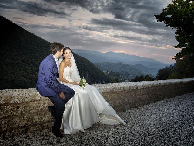 Il matrimonio di Paolo e Serena a Subiaco, Roma 47
