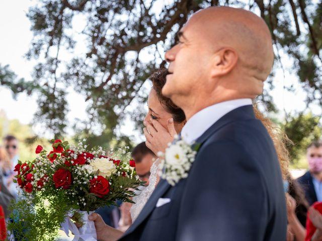 Il matrimonio di Tiziano e Velia a Corleone, Palermo 33
