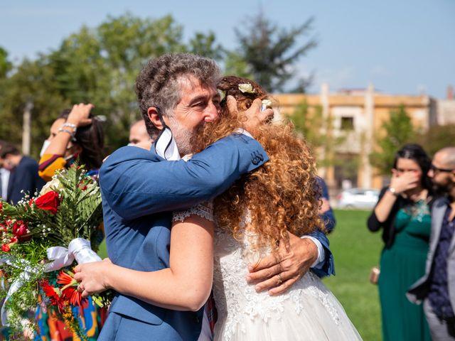 Il matrimonio di Tiziano e Velia a Corleone, Palermo 73