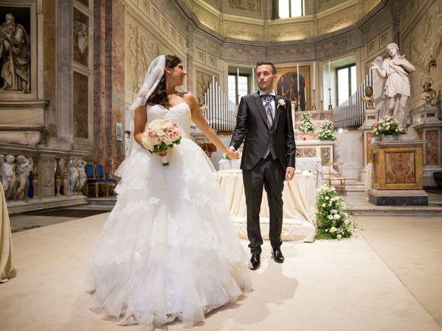 Il matrimonio di Fabrizio e Laura a Marino, Roma 24