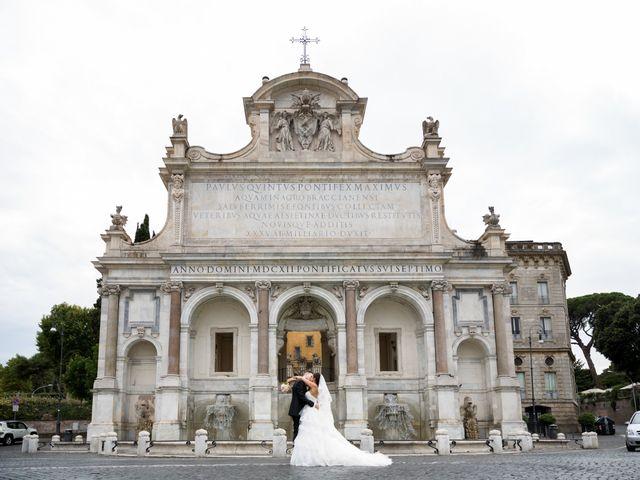 Il matrimonio di Fabrizio e Laura a Marino, Roma 28