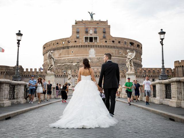 Il matrimonio di Fabrizio e Laura a Marino, Roma 34