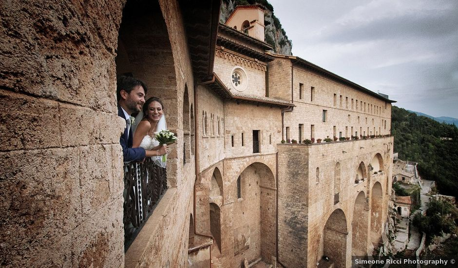 Il matrimonio di Paolo e Serena a Subiaco, Roma