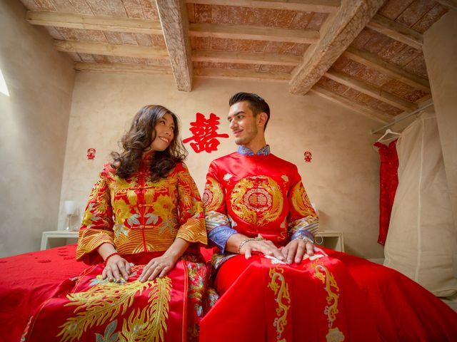 Le nozze di Guanlan e Sergio