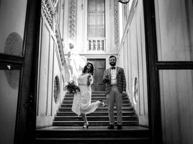 Il matrimonio di Nicola e Giulia a Casale Monferrato, Alessandria 35