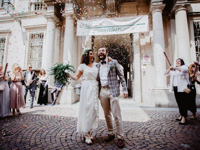 Il matrimonio di Nicola e Giulia a Casale Monferrato, Alessandria 36