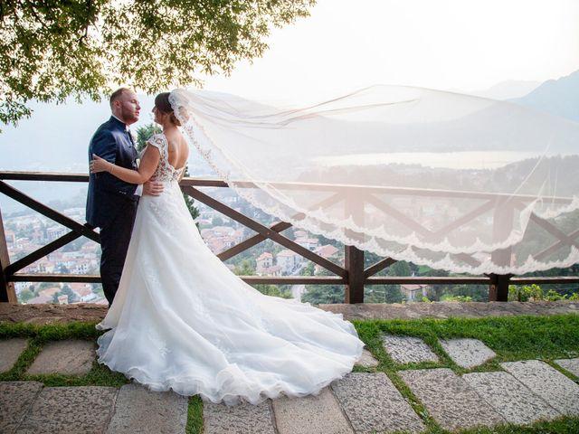 Il matrimonio di Michael e Veronica a Calolziocorte, Lecco 54