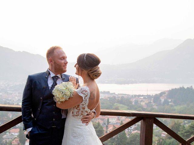 Il matrimonio di Michael e Veronica a Calolziocorte, Lecco 56