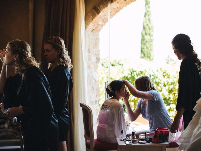 Il matrimonio di Jaff e Penelope a Tavarnelle Val di Pesa, Firenze 5