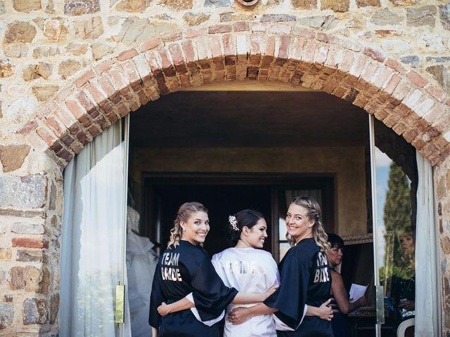 Il matrimonio di Jaff e Penelope a Tavarnelle Val di Pesa, Firenze 18