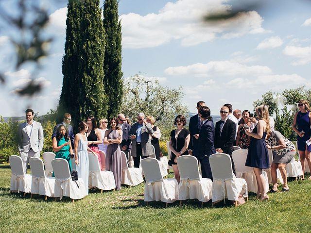 Il matrimonio di Jaff e Penelope a Tavarnelle Val di Pesa, Firenze 35