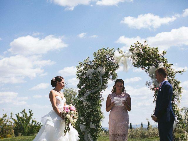 Il matrimonio di Jaff e Penelope a Tavarnelle Val di Pesa, Firenze 38