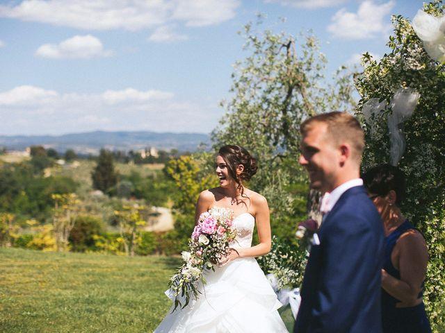 Il matrimonio di Jaff e Penelope a Tavarnelle Val di Pesa, Firenze 39