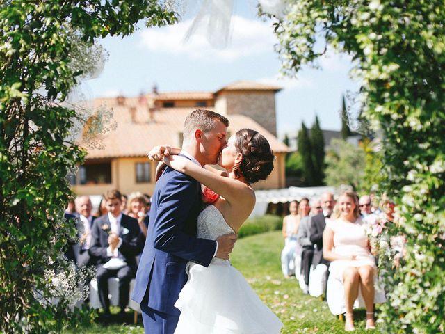 Il matrimonio di Jaff e Penelope a Tavarnelle Val di Pesa, Firenze 43