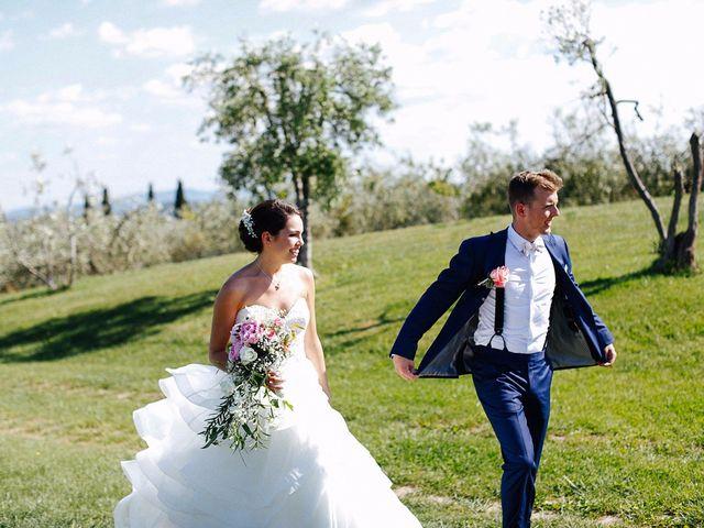 Il matrimonio di Jaff e Penelope a Tavarnelle Val di Pesa, Firenze 48