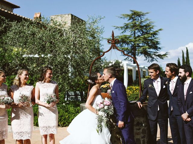 Il matrimonio di Jaff e Penelope a Tavarnelle Val di Pesa, Firenze 61