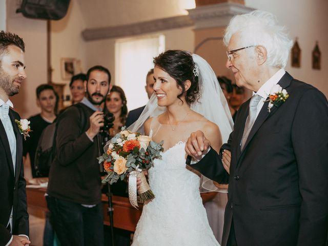 Il matrimonio di Davide e Chiara a Monte San Pietro, Bologna 41
