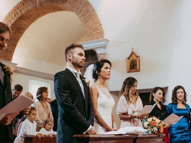 Il matrimonio di Davide e Chiara a Monte San Pietro, Bologna 45