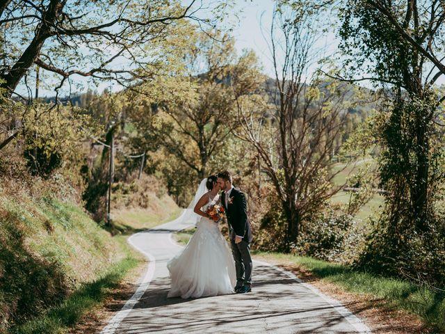 Il matrimonio di Davide e Chiara a Monte San Pietro, Bologna 73