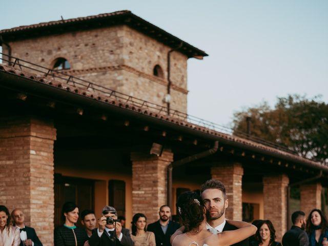 Il matrimonio di Davide e Chiara a Monte San Pietro, Bologna 134