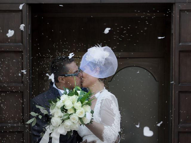 le nozze di Aferdita e Ronnie