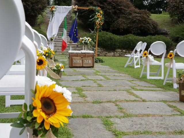 Il matrimonio di Alessio e Julia a Carnago, Varese 2