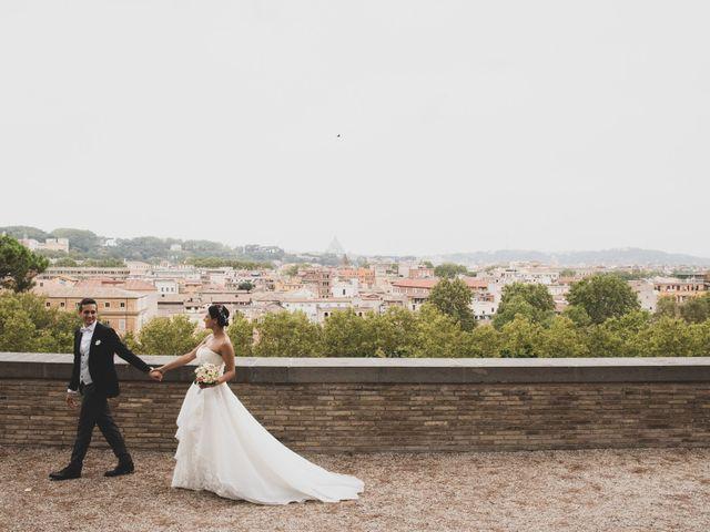 Il matrimonio di Silvia e Davide a Roma, Roma 42