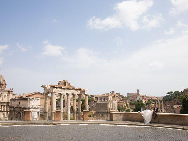 Il matrimonio di Silvia e Davide a Roma, Roma 45