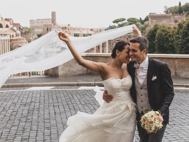 Il matrimonio di Silvia e Davide a Roma, Roma 46