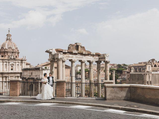 Il matrimonio di Silvia e Davide a Roma, Roma 47