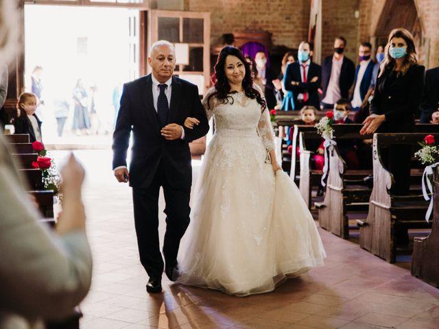 Il matrimonio di Roberto e Claudia a Castelfiorentino, Firenze 24
