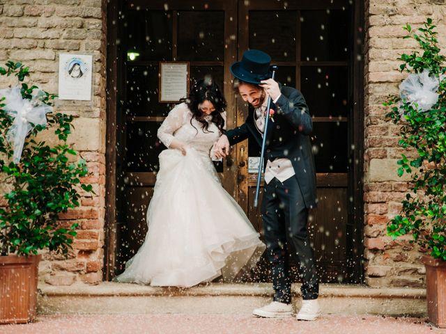Il matrimonio di Roberto e Claudia a Castelfiorentino, Firenze 28