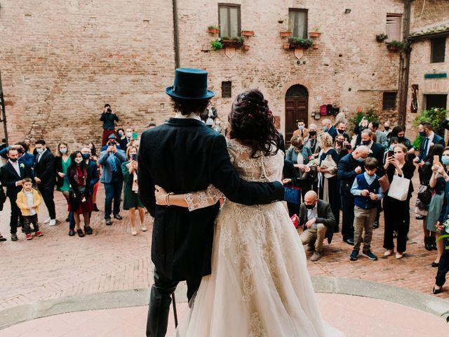 Il matrimonio di Roberto e Claudia a Castelfiorentino, Firenze 30