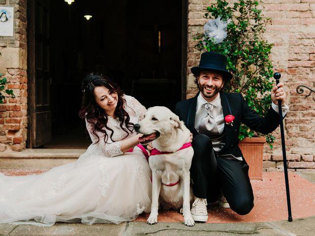 Il matrimonio di Roberto e Claudia a Castelfiorentino, Firenze 31
