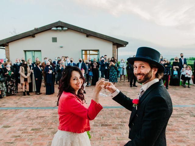 Il matrimonio di Roberto e Claudia a Castelfiorentino, Firenze 41